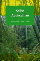 Salish Applicatives