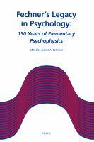 Fechner's Legacy In Psychology
