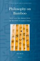 Philosophy on Bamboo