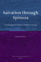 Salvation Through Spinoza