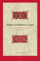 Studies in Matthew's Gospel