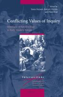 Conflicting Values Of Inquiry