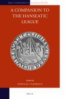 Companion to the Hanseatic League