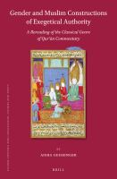 Gender and Muslim Constructions of Exegetical Authority