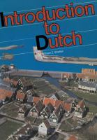 Introduction to Dutch
