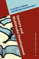 Gesture and Multimodal Development