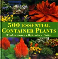 500 Essential Container Plants