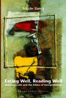 Eating Well, Reading Well