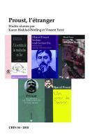 Proust, l'étranger