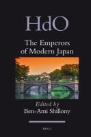 The Emperors of Modern Japan