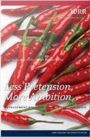 Less Pretension