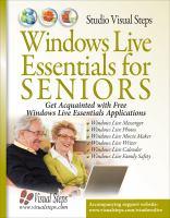 Windows Live Essentials for Seniors