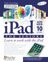 IPad With IOS 10 for Seniors