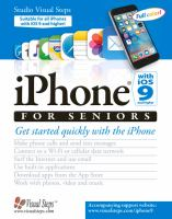 IPhone With IOS 9 for Seniors