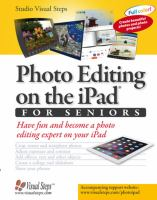 Photo Editing on the IPad for Seniors