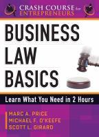 Business Law Basics