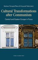 Cultural Transformations After Communism