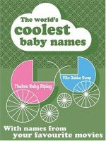 The World's Coolest Baby Names
