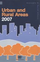 Urban and Rural Areas, 2007