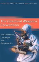 The Chemical Weapons Convention