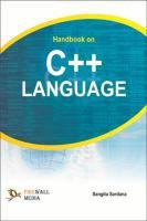 Handbook on C++ Language