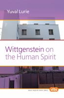 Wittgenstein on the Human Spirit