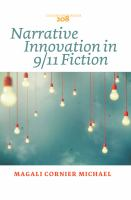 Narrative Innovation in 9/11 Fiction