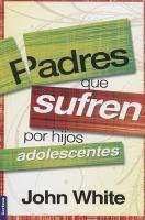 Padres que sufren por hijos adolescentes