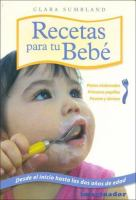 Recetas para tu bebé
