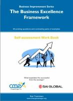 The Business Excellence Framework
