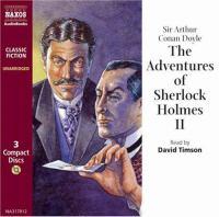 The Adventures Of Sherlock Holmes II (Compact Disc)