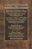 Anonymus and Master Roger