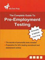 The Complete Guide to Pre-employment Testing