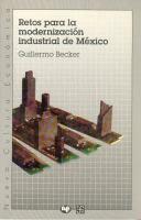 Retos para la modernización industrial de México