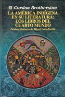 La América indígena en su literatura