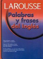 Palabras y frases del inglés