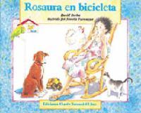 Rosaura en bicicleta