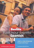 Berlitz rush hour express Spanish