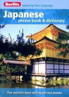 Berlitz Japanese Phrase Book and CD