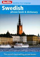 Berlitz Swedish Phrase Book and CD