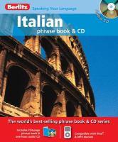 Italian phrase book & CD