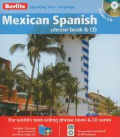 Mexican Spanish phrase book & CD