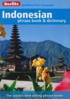 Indonesian Phrase Book and Dictionary