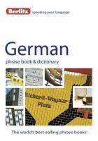 Berlitz German Phrase Book & Dictionary