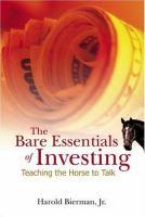 The Bare Essentials of Investing