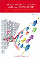 Biomechanics at Micro- and Nanoscale Levels