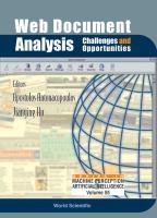 Web Document Analysis