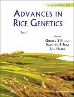 Advances in Rice Genetics (In 2 Parts)