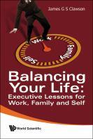 Balancing your Life