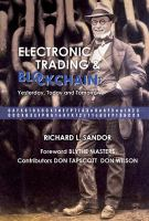 Electronic Trading and Blockchain